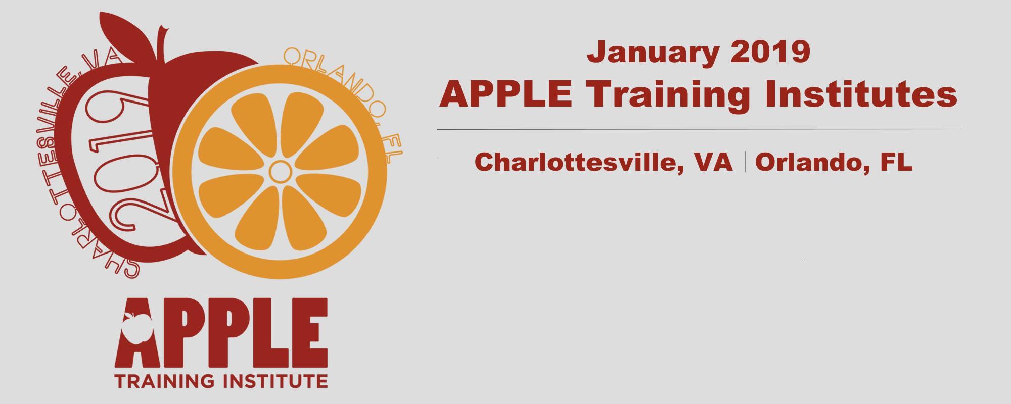 Apple training institute announcement image